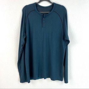 Lululemon Mens Long Sleeve Tee Size XL